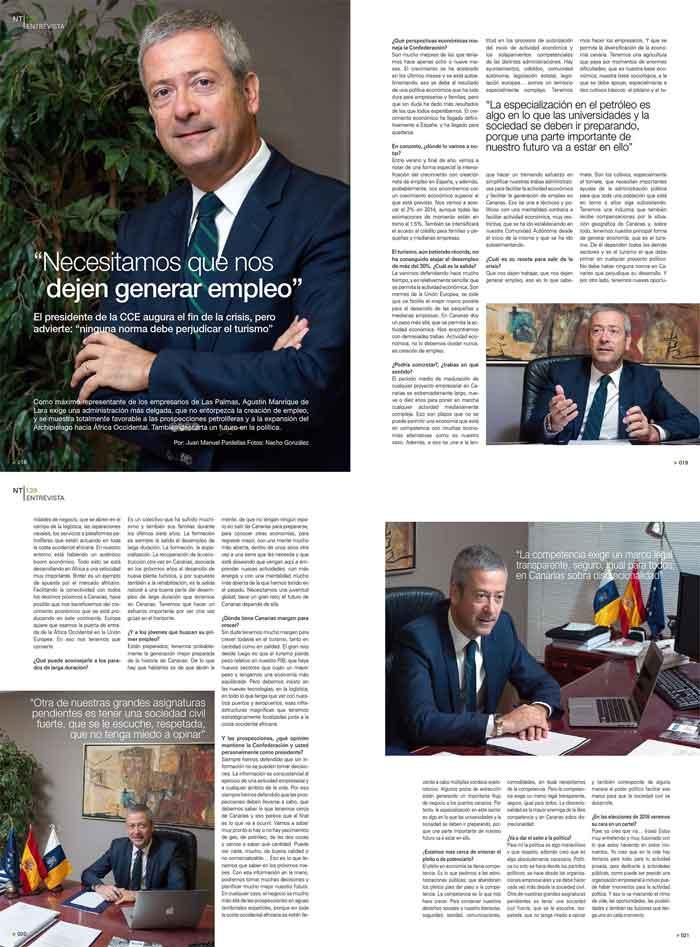"""Agustín Manrique: """"El crecimiento se está acelerando y se está 'autoalimentando'"""""""