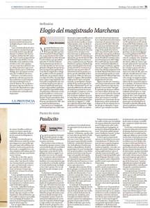 Artículo de opinión de Santiago Pérez en La Próvincia, Círculo de Empresarios de Gran Canaria