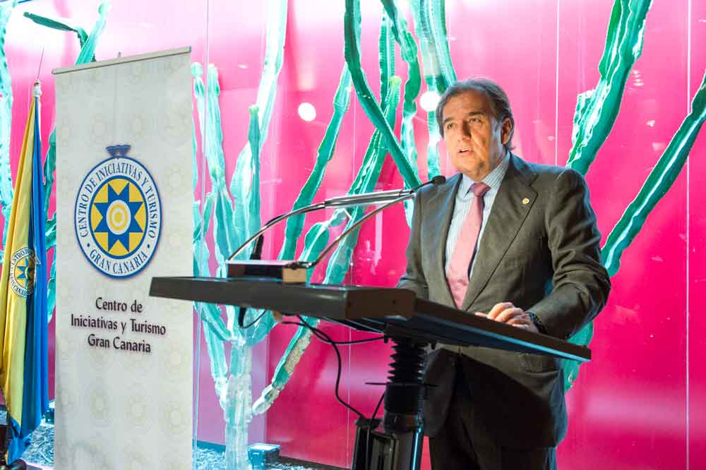 """Fernando del Castillo: """"Gran Canaria se merece una situación económica mucho más favorable que a la que se ve sometida"""""""