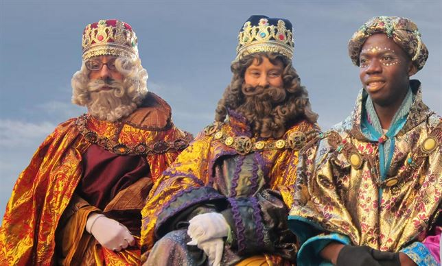 Carta a los Reyes Magos de Oriente de parte Del Círculo de Empresarios de Gran Canaria