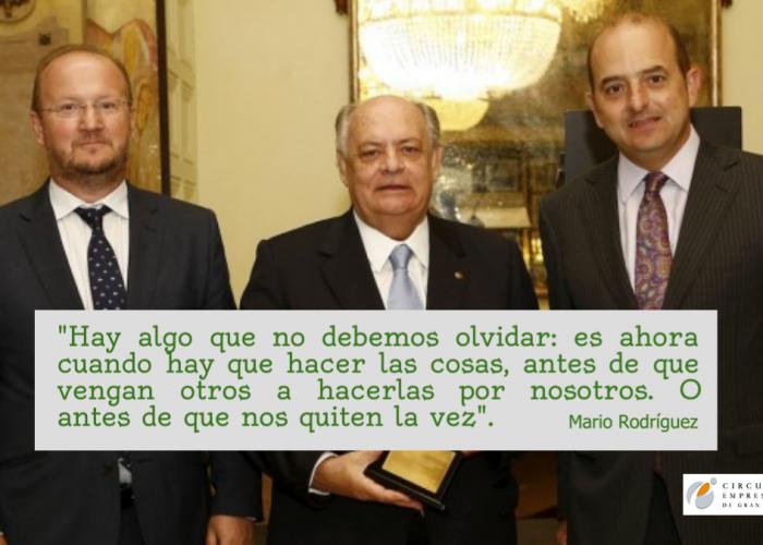 Gran Canaria nombra hijo predilecto a Mario Rodríguez