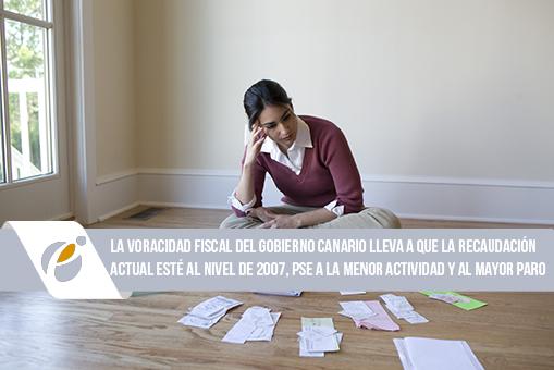 Canarias, más impuestos a cambio de menos