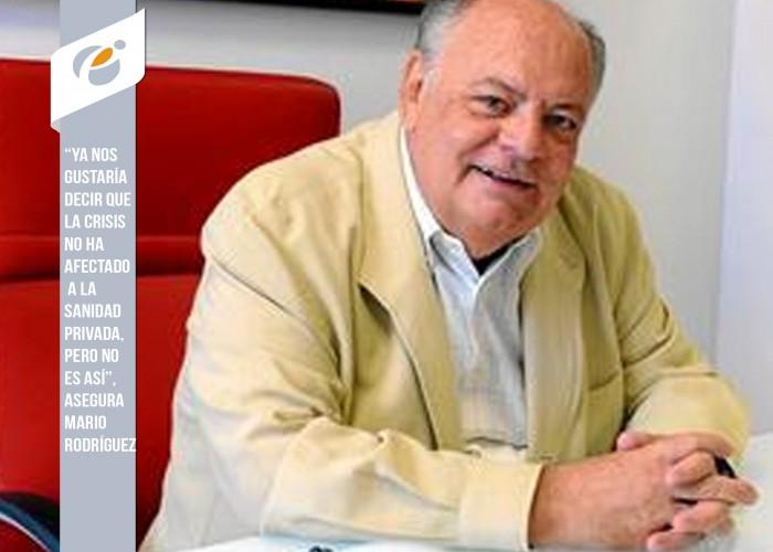 """Mario Rodríguez: """"En la Sanidad pública hay dos autonomías"""""""